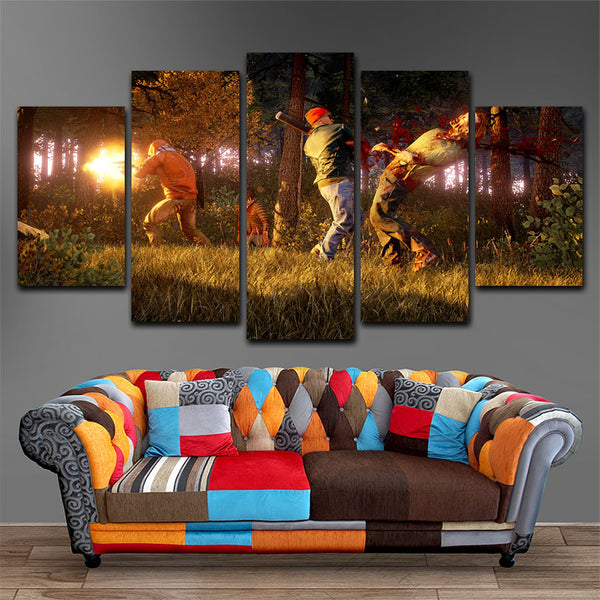 State of Decay  5 Piece Canvas