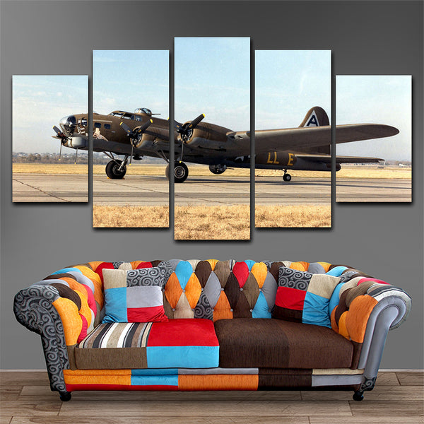 Airbus 5 Piece Canvas