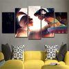 Aladdin 5 Piece Canvas