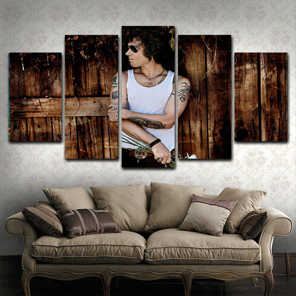 Enrique Bunbury 5 Piece Canvas Art Prints
