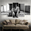 Enrique Bunbury  5 Piece Canvas