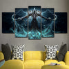 Diablo 5 Piece Canvas