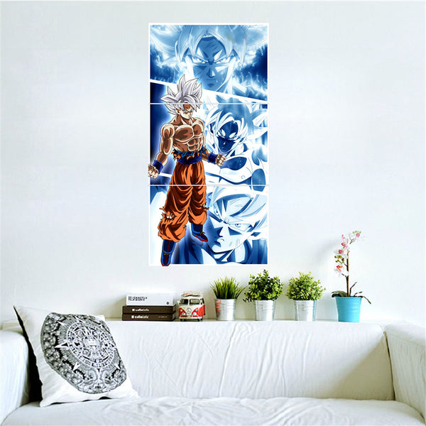 Dragon Ball 3 Piece Canvas