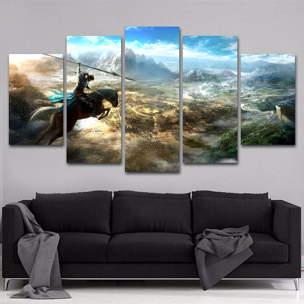 Dynasty Warriors 5 Piece Canvas