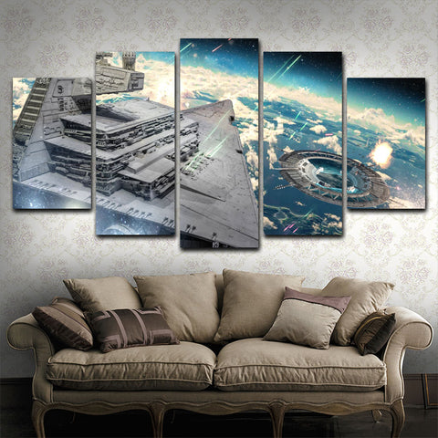 Star Wars 5 Piece Canvas