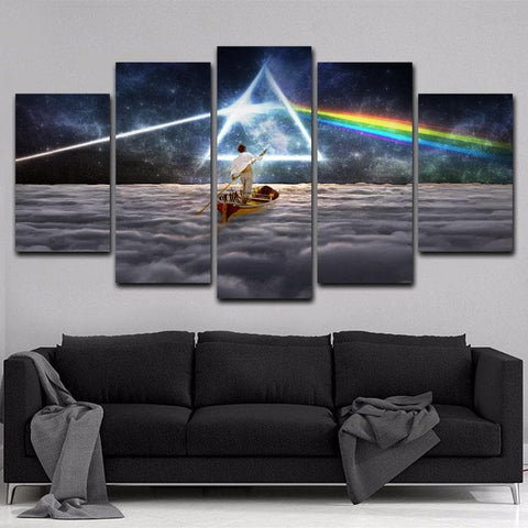 Pink Floyd 5 Piece Canvas-Wall art-Canvas pictures
