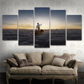 Pink Floyd 5 Piece Canvas