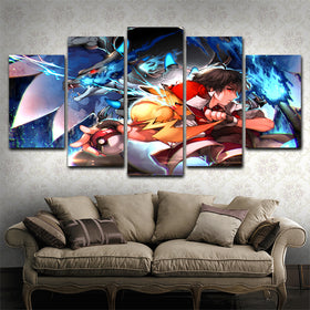 Pokemon  5 Piece Canvas
