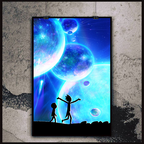 Rick And Morty Poster Canvas