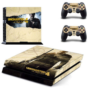 Uncharted 4 For  PS4 Skin Stickers