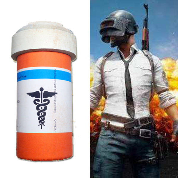 PUBG Playerunknown's Battlegrounds anodyne Cosplay Prop Medicine Bottle Supply Game Fans Gifts Christmas Anime Exhibition