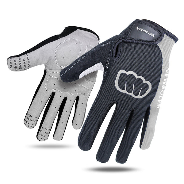 NEWBOLER Cycling Gloves Men Sports