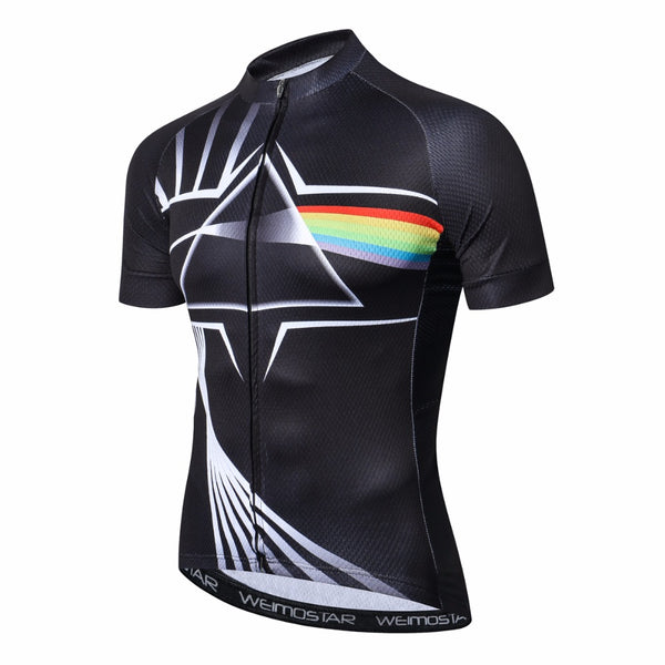 Outdoor Cycling Jersey Mens Pink Floyd  2018