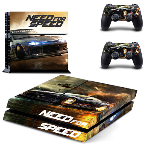 Need for Speed Vinyl Decal PS4 Skin Stickers