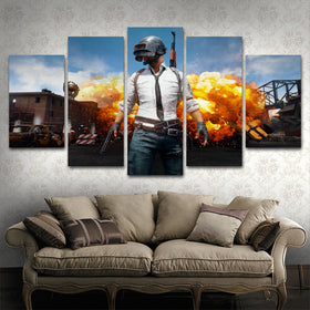 PUBG 5 Piece Canvas