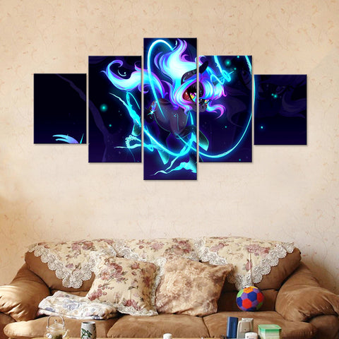 Unicorn 5 Piece Canvas