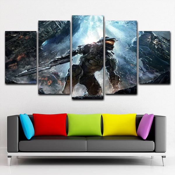 Halo 5  5 Piece Canvas