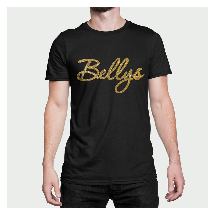 Bellys Glossy Flakes Black T-Shirt