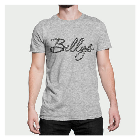 Bellys Glossy Flakes Heather Grey T-Shirt