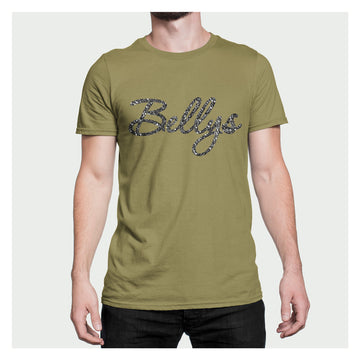 Bellys Glossy Flakes Olive T-Shirt