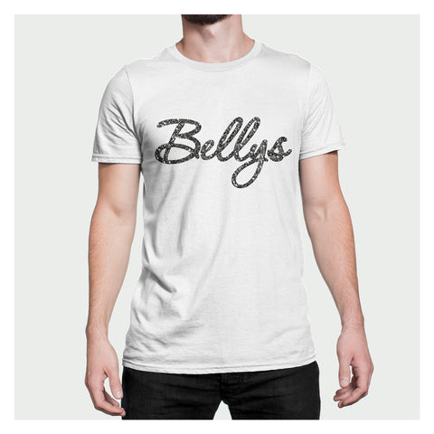 Bellys Glossy Flakes White T-Shirt