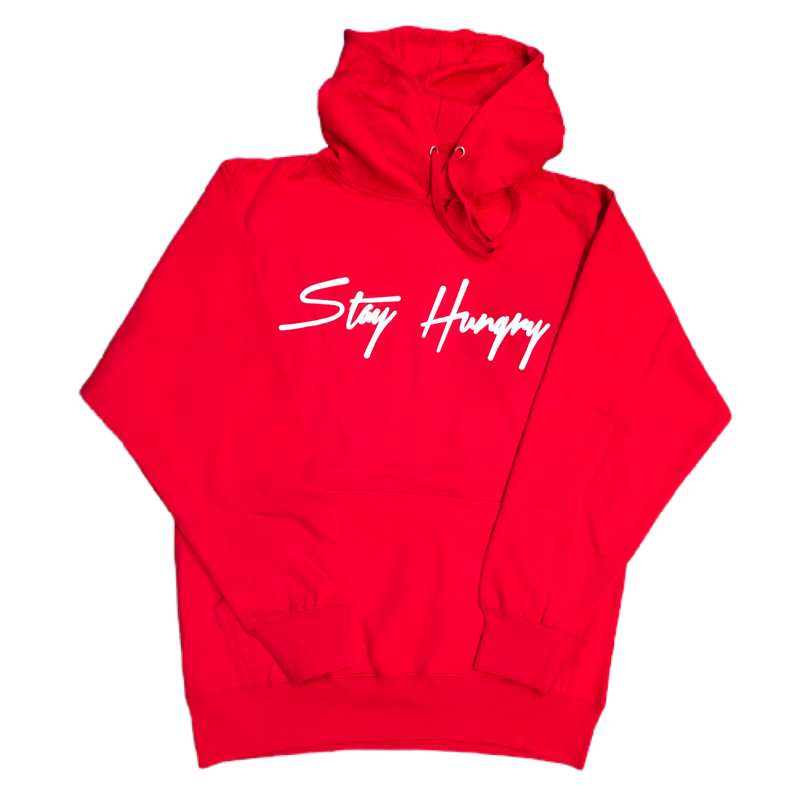 Stay Hungry Sweat Suit - Red