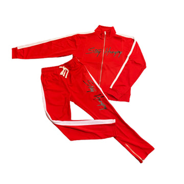 Classic Red Tracksuit