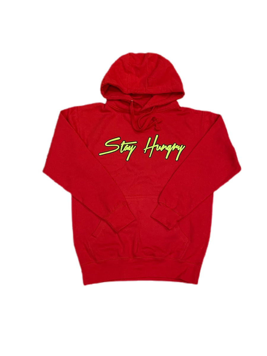 Special Edition Red Multi Success Hoodie.