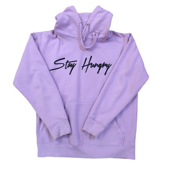 Stay Hungry hoodie - Purple