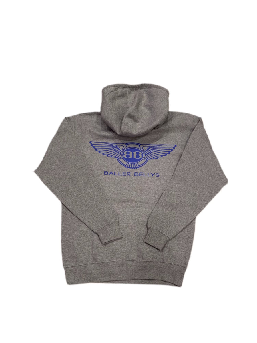 Grey Area Stay Hungry Sweatsuit with Blue
