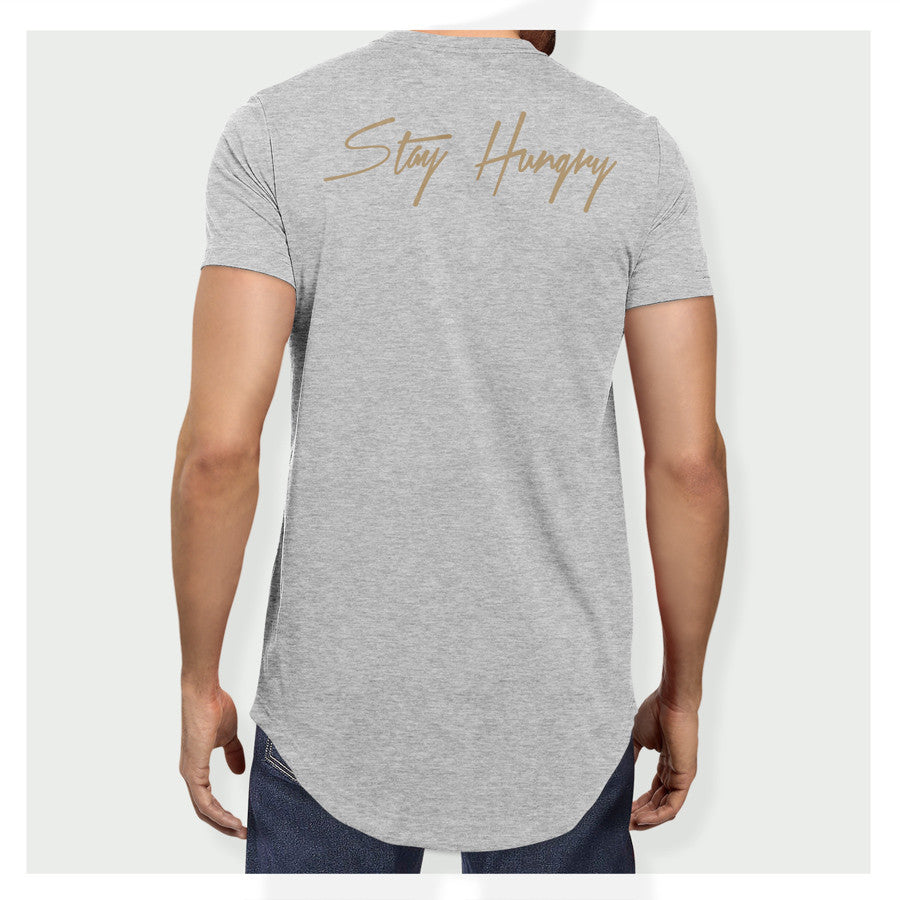 Stay Hungry Longline Tee H/G