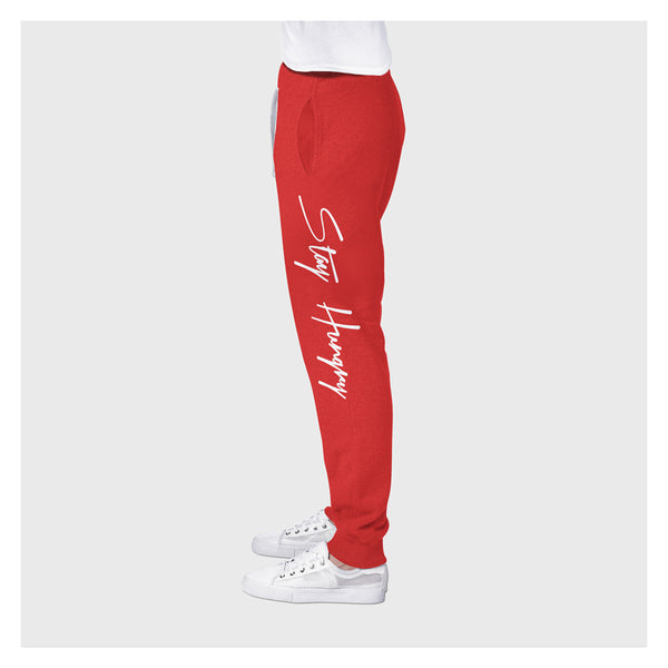Stay Hungry Joggers R/W