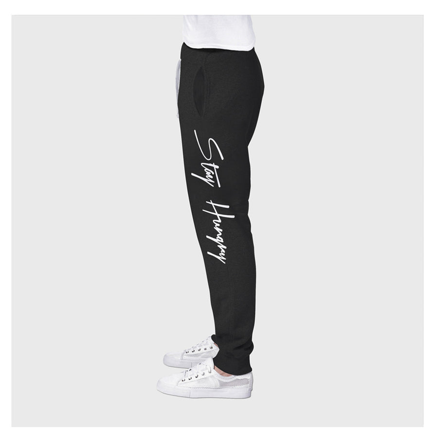 Stay Hungry Joggers B/BL