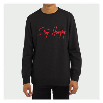 Stay Hungry Crewneck B/R