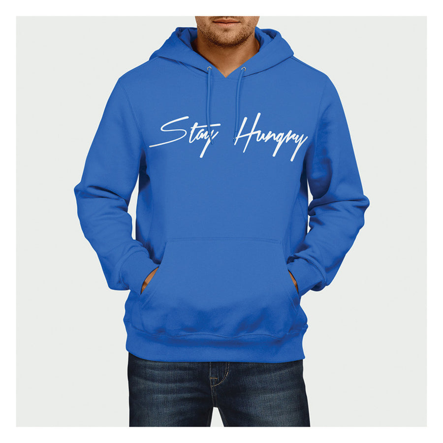 Stay Hungry Hoodie BL/W