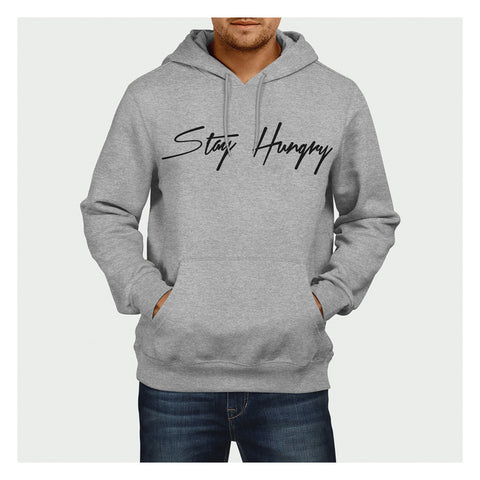Stay Hungry Hoodie Heather