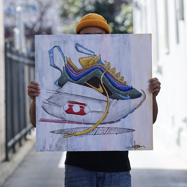 ** AIR MAX 1/97 SW ORIGINAL PAINTING