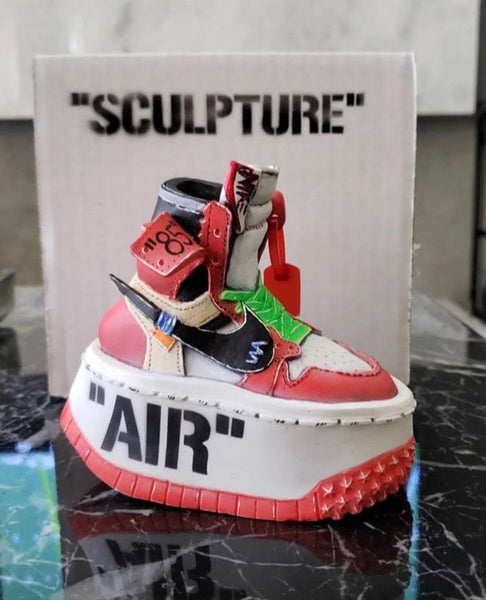 "**OFF-WHITE AJ1 Chicago ""Sculpture"""