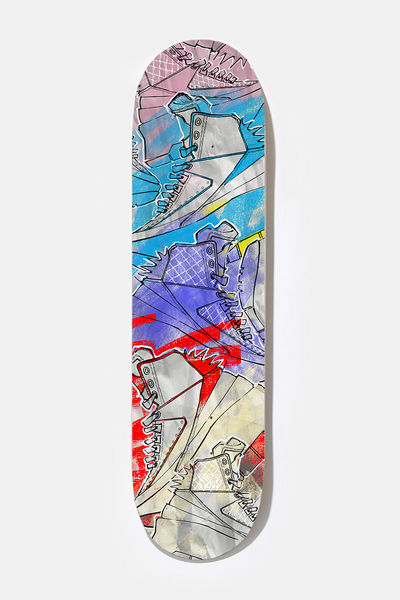 **** AJ2 - Exclusive Skate Deck
