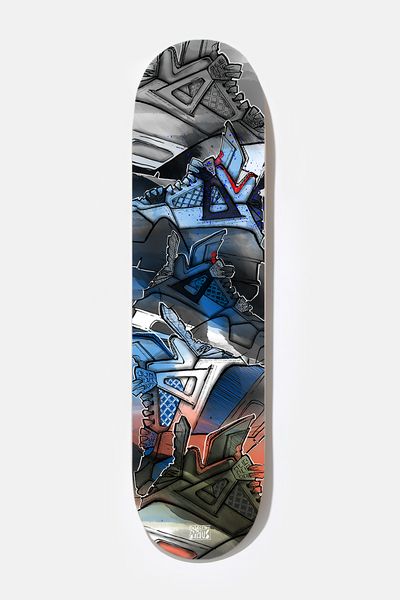**** AJ4 - Exclusive Skate Deck