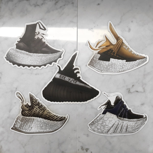 Adidas Boost Sticker Pack