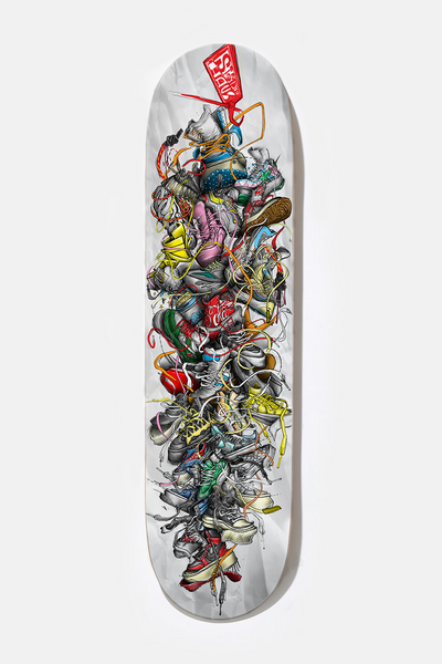 "*** ""ALL TIED UP"" - Limited Edition Skate Deck"