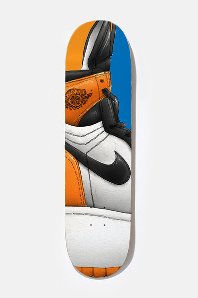 *** SHATTERED BACKBOARD - Skate Deck