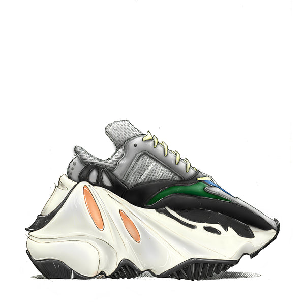 Yeezy Wave Runner 700 Print