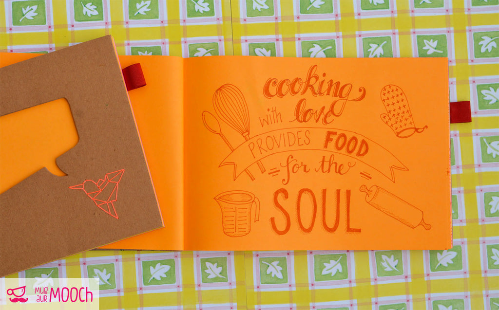 Quirky Inspirations #6 - Recipe Book