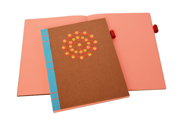 Sequin Notebook : Brown Atom