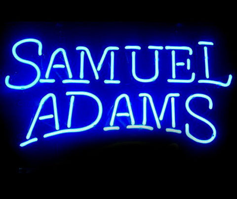 Samuel Adams Lager Neon Sign