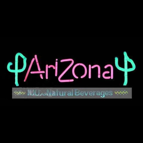 Arizona Ice Tea Handmade Art Neon Sign