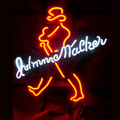 Professional  Big Johnnie Walker Distillery Beer Bar Tube Neon Sign Gift