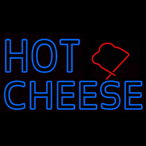 Blue Hot Cheese Handmade Art Neon Sign